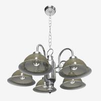 3d model hanging lamp lighting