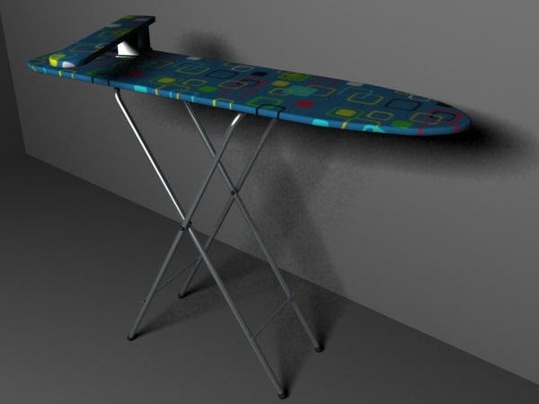 ironing table 3d model