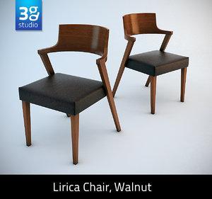 lirica chair 3d model
