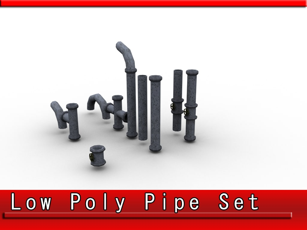 3ds max set pipes