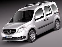 3ds mercedes benz citan van