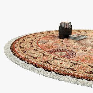 obj oriental rug fringe