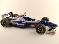 Williams Renault FW19 1997 F1 car