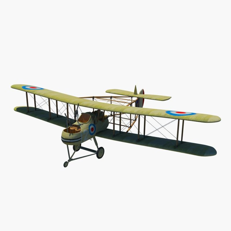 royal aircraft factory f 3d max