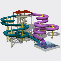 Water Slides Set 02