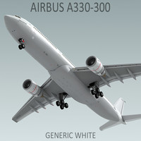 Airbus A330-300 Generic White