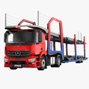 Mercedes Antos Car Transporter