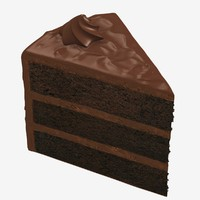 Cake Slice - Chocolate