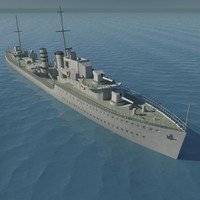 British WW2 Destroyer
