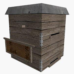 hive 3d model