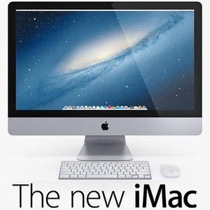3d new imac model