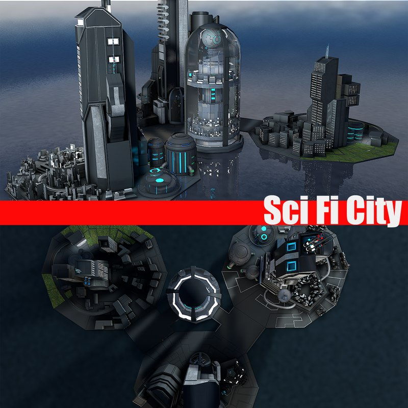 city building 3ds