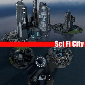 city building 3ds