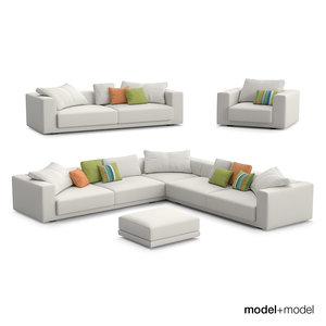 max mdf italia sliding sofas