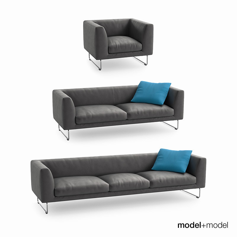 3d cappellini elan sofas armchair model