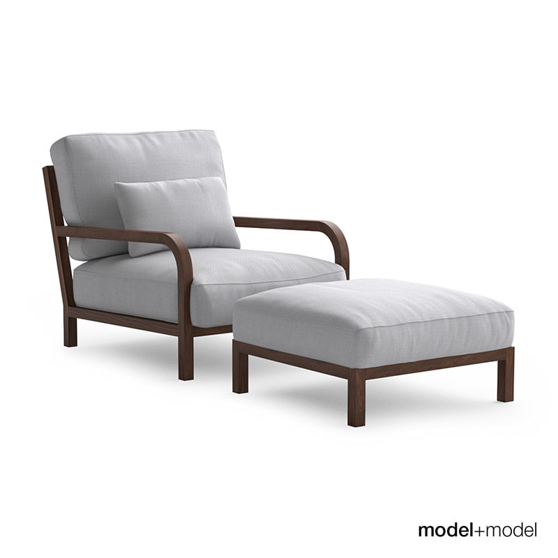max linteloo dario sofa armchair