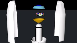 3ds max atlas rocket