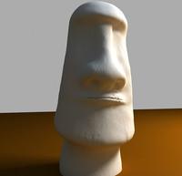 Easter Island Moai Statue