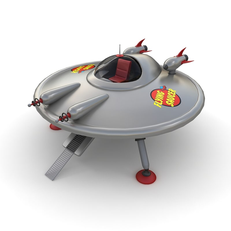 max toy ufo flying saucer