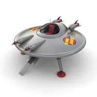 Toy UFO (flying saucer)