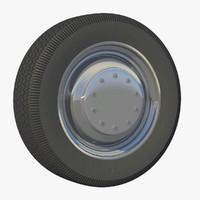 3d wheel truck rim model