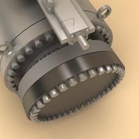 3d model flow valve