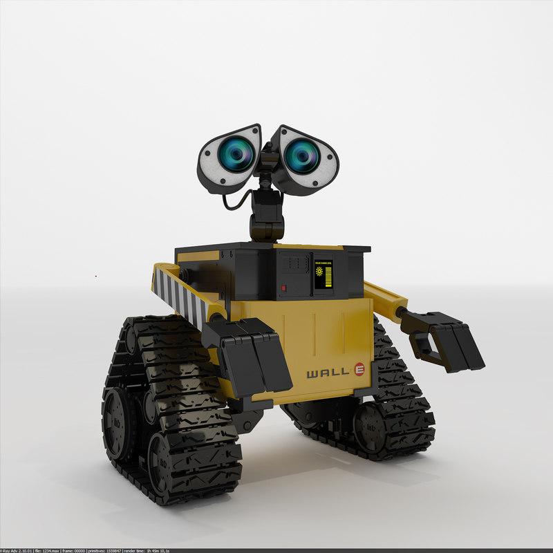 robot wall-e max