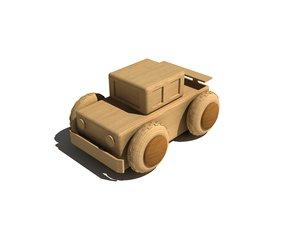 wooden car max