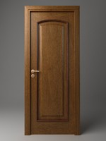 3d door wood wooden