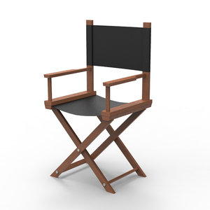 3d director chair