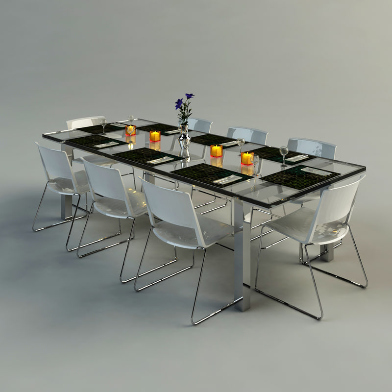 maya contemporary dining table