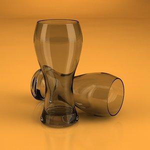 beer glass 3d c4d