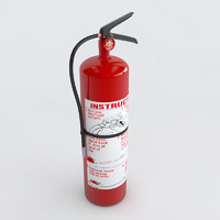 3d extinguisher e3d element3d