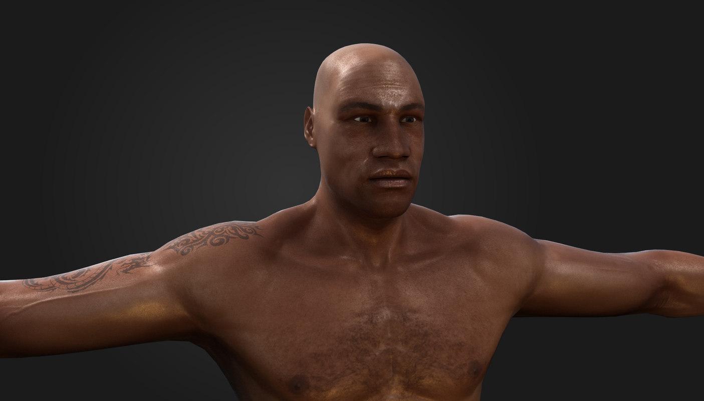 boxer box 3d model