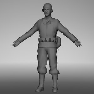 soldier rigging max