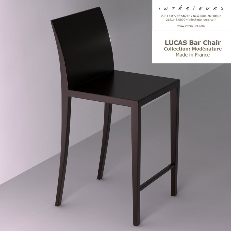 3ds max interieurs lucas bar chair