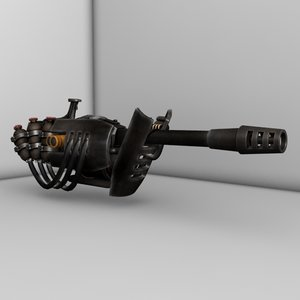 3d model incinerator fallout