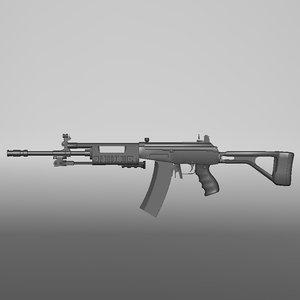 galil assault rifle max