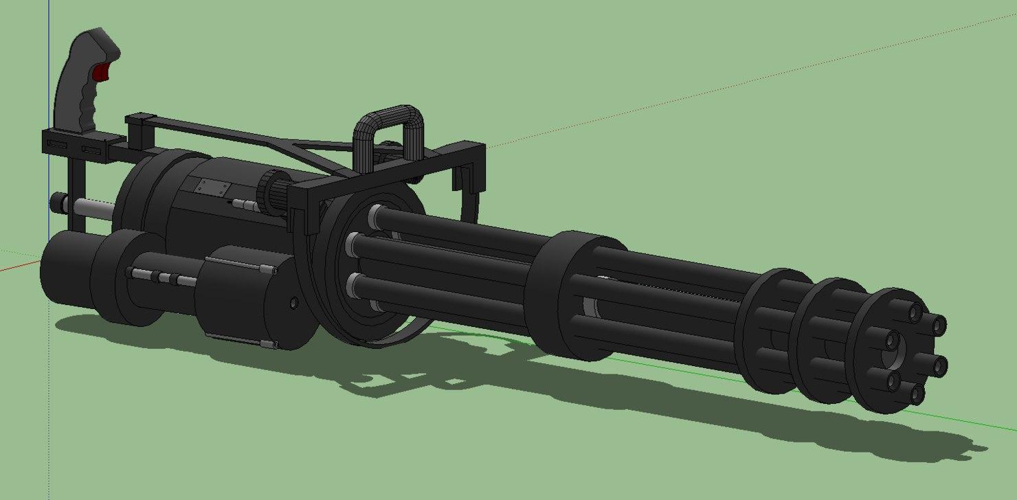 free 3ds mode vulcan minigun