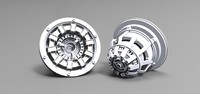 3d Iron Man Arc Reactor HQ Solidworks model