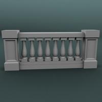 balustrade architectural max