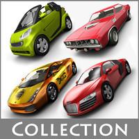 cars 4 3d model