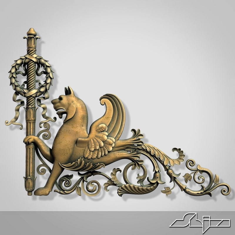 3ds max coat arms 1
