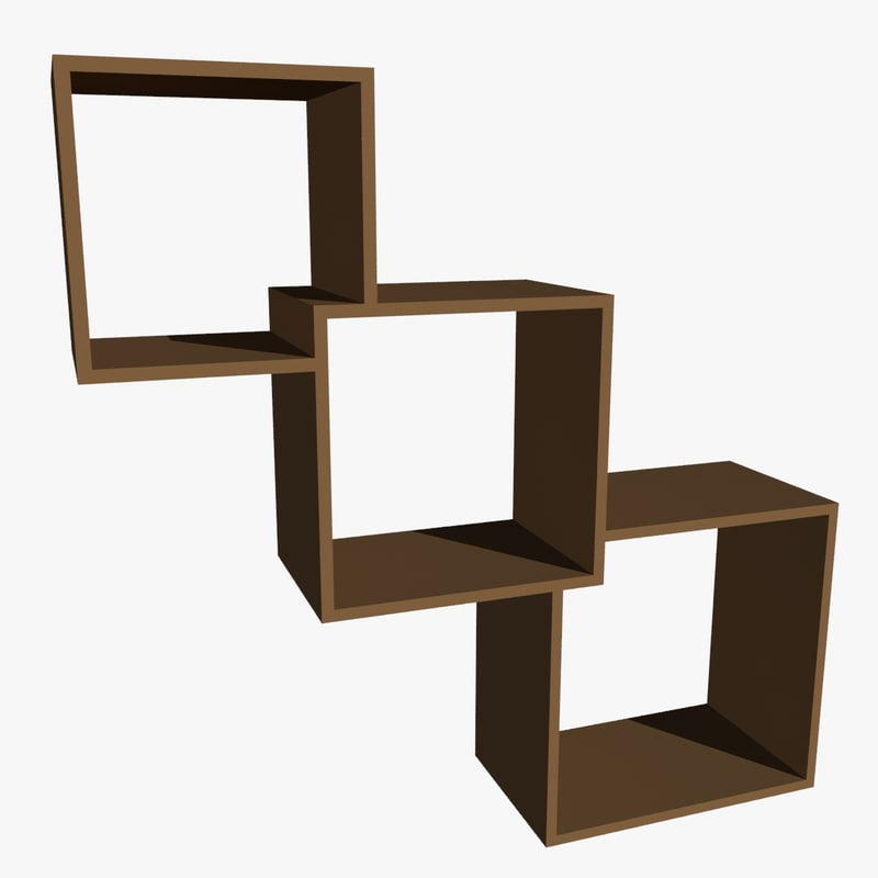 wall cube shelf max
