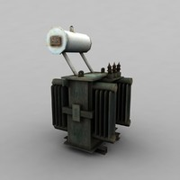 electric transformer 3d 3ds