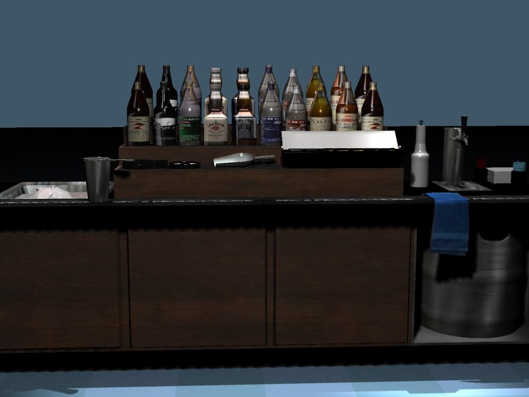 mini bar 3d 3ds