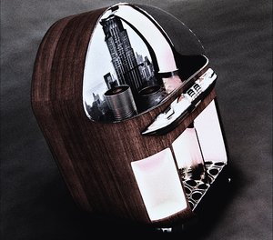 3d model 1940 musicbox