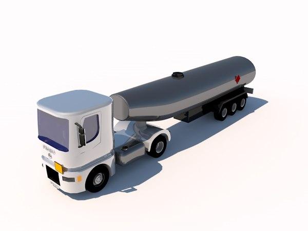 3d model pegaso spanish trucks