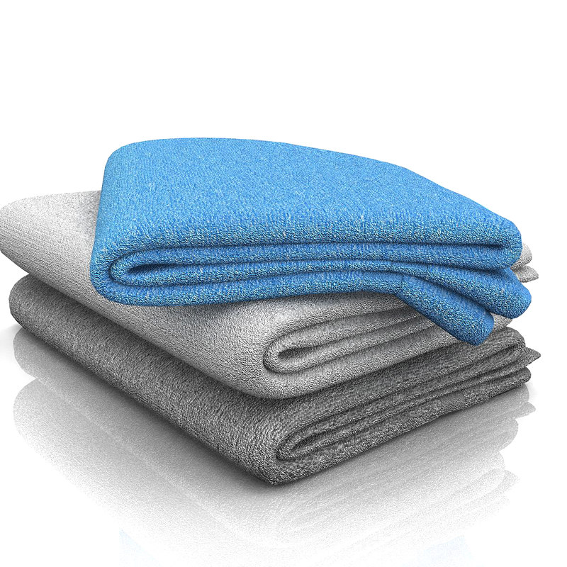 bathroom towel 3d 3ds