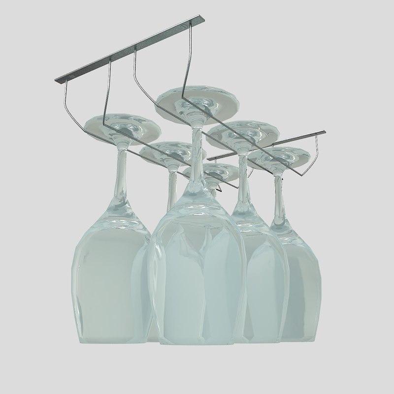 3d glass suport forest sando
